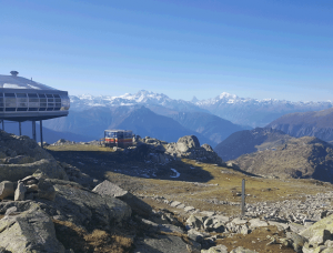 Bettmeralp in der Nähe des Aletschgletschers