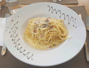 Bettmeralp Spaghetti Carbonara