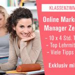 Online Marketing Diplomkurs Klassenzimmer