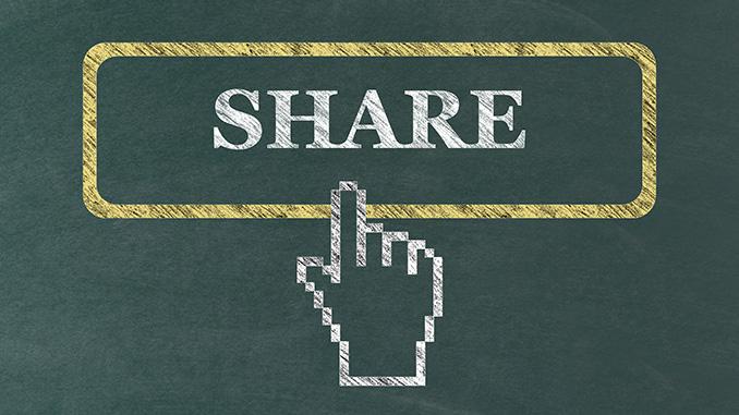 Inhalte teilbar machen mit Share-Buttons