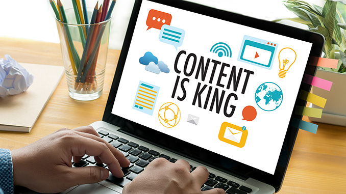 Content ist King für Social Media Manager