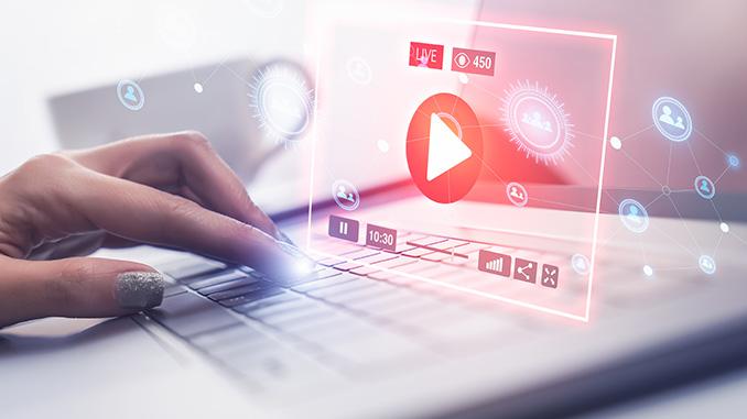 Social Media massgeschneiderter Inhalt am Beispiel eines Videos