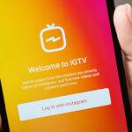 Social Media Netzwerk Instagram TV