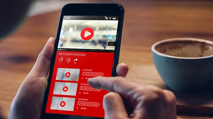 Social Media: Teilen eines Videos
