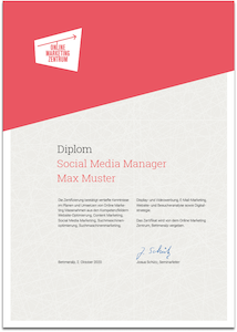 Diplom Social Media Manager