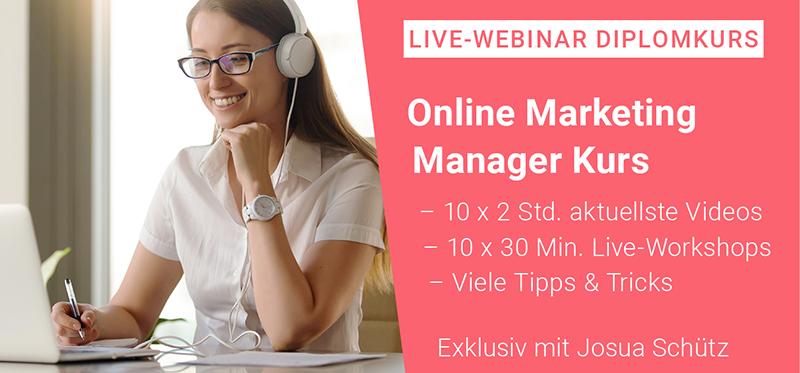 Online Marketing Kurs