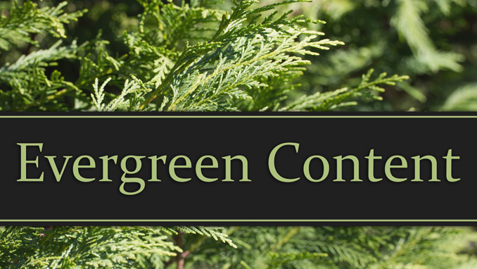 Facebook Evergreen Content