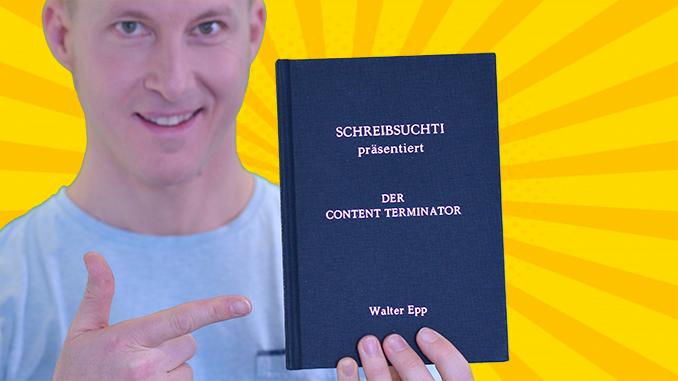 Buchempfehlung der Content Terminator