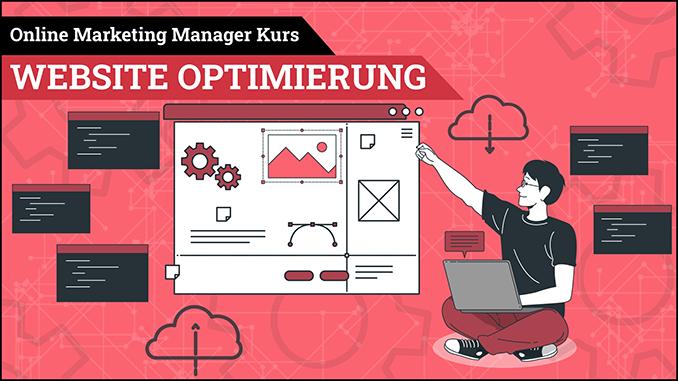 Online Marketing Manager Kurs Website Optimierung