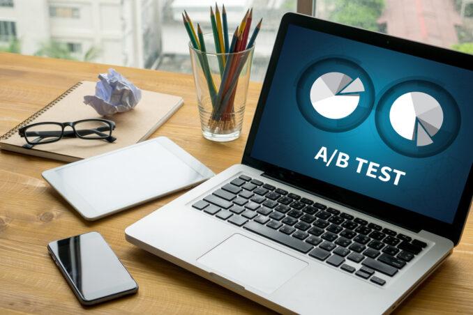Online Marketing Ausbildung A/B Test