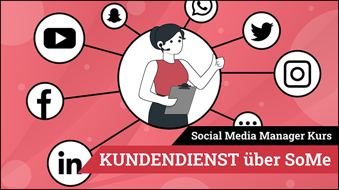 Social Media Manager Kurs Modul Kundendienst