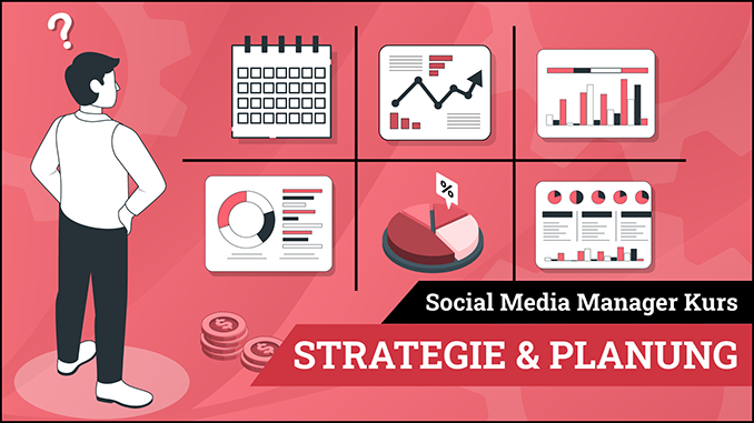 Social Media Manager Kurs Modul Strategie und Planung