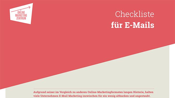 Checkliste für E-Mail-Marketing (Preview)