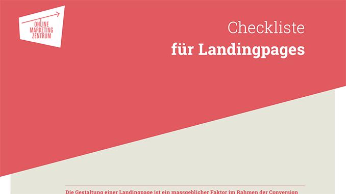 Checkliste für Landingpage (Preview)