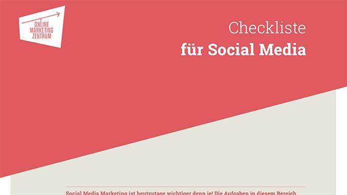 Checkliste für Social Media (Preview)