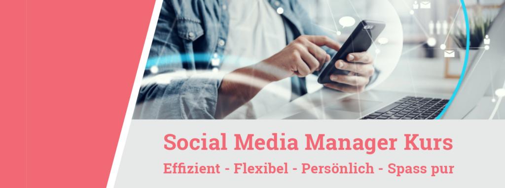 Social Media Manager Kurs